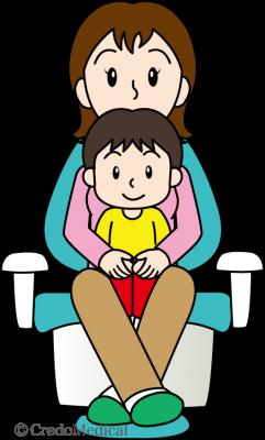 正しいお子様の介助(ロゴあり)