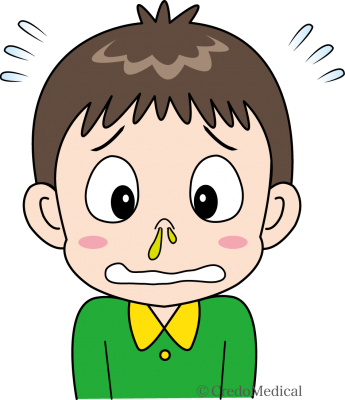 子どもの鼻水(ロゴあり)