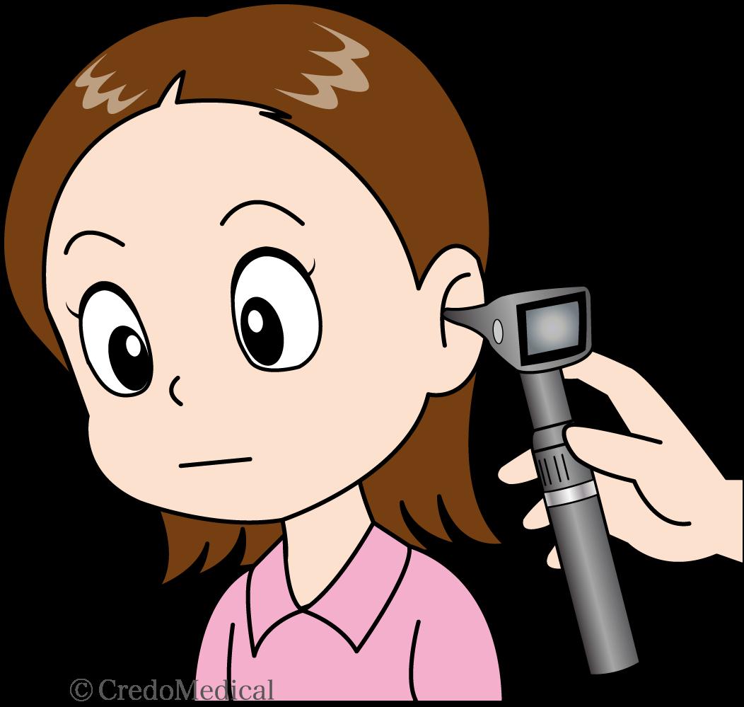 耳を診る(ロゴあり)